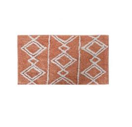 TAPIS DE BAIN amazigh en marron 50X80X2 cm