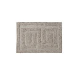 TAPIS de bain EN COTTON GRIS 60X40X0,5 cm