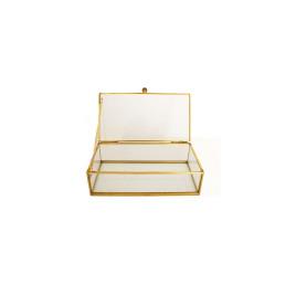 Boite à bijoux rectangulaire 19x11,5x6,6 cm