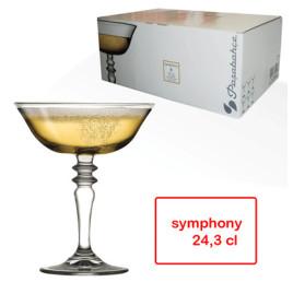 Set de 6 coupes à glace symphony