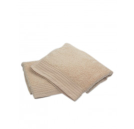 Serviette 100% Coton 50x80CM Beige